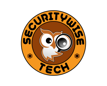 SECURITYWISE TECH logo design