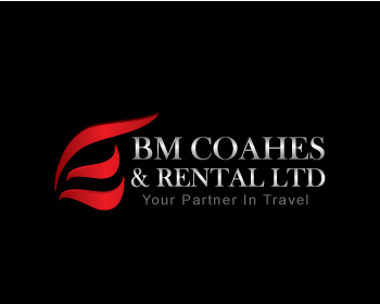 BM Coaches & Rental Ltd logo design