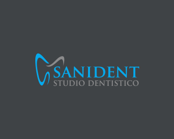 Sanident Studio Dentistico logo design