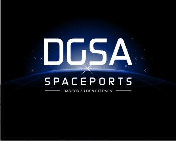 DGSA-Spaceports logo design