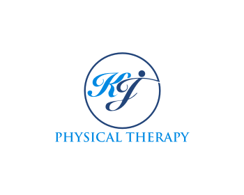 KJ PHYSICAL THERAPY logo design