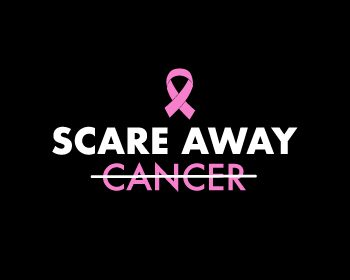 Scare Away Cancer logo design