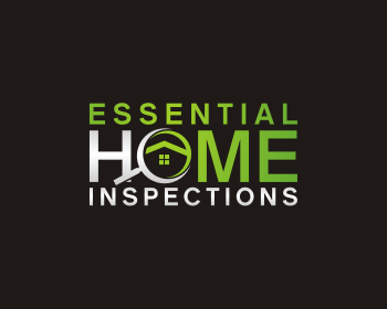Essential Home Inspections logo design