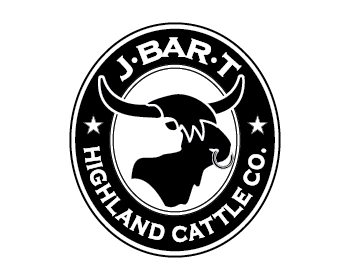 J Bar T Highland Cattle Co. logo design