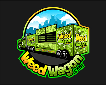 WeedWagon.com logo design