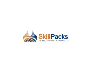 SkillPacks logo design