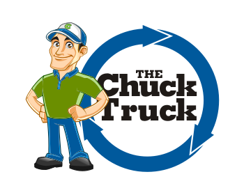 The Chuck Truck logo design