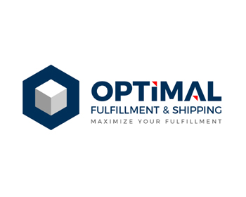 Optimal Fulfillment & Shipping logo design