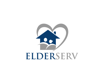 Elderserv logo design