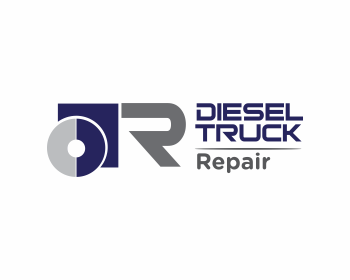 Diesel Truck Repair logo design