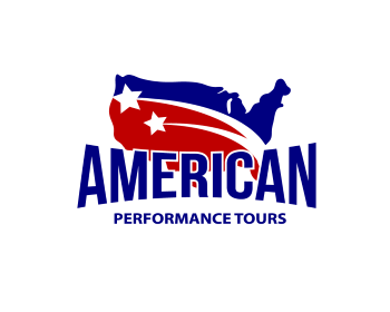 American Performance Tours logo design