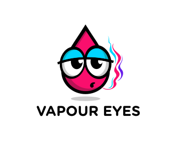 Vapour Eyes logo design