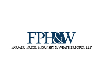 Logo design for Farmer, Price, Hornsby & Weatherford, LLP