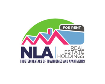 NLA Real Estate Holdings logo design
