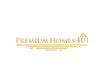 Premium Homes 4U logo design