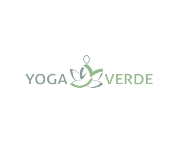 Yoga Verde logo design