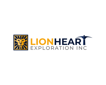 Lionheart Exploration Ltd logo design