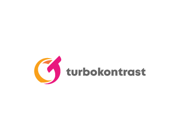 Turbokontrast logo design