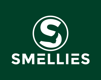 Smellies logo design