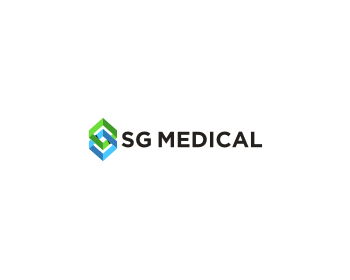 SG Medical logo design