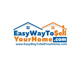 Easy Way to Sell Your Home .Com logo design