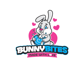 Logo design for Bunny Bites