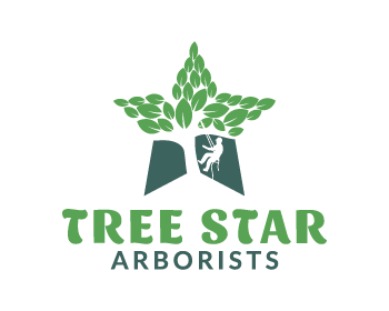 Tree Star Arborists logo design