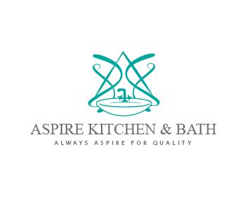 ASPIRE KITCHEN & BATH INC logo design