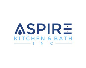 Logo design for ASPIRE KITCHEN & BATH INC