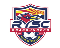 Roadrunners Youth Soccer Club logo design