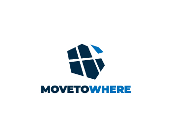 Move to Where logo design