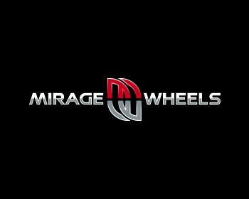 Mirage Wheels logo design