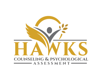 Hawks Counseling & Psychological Assessment logo design