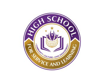 Logo High School for Service and Learning
