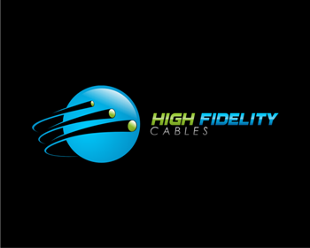 Logo design for High Fidelity Cables