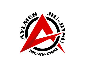 Logo design for Aylmer Jiu-Jitsu and Muay-Thai
