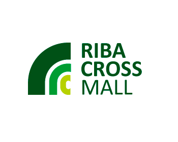 Riba Cross Mall logo design