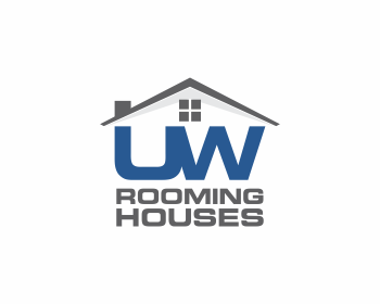 UW Rooming Houses logo design