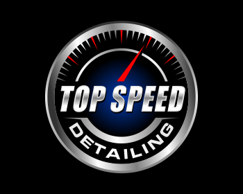 Top Speed Detailing logo design