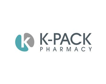 Logo design for K-Pack Pharmacy