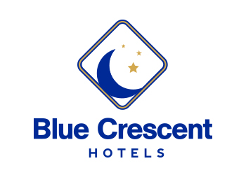Logo design for Blue Crescent Hotels