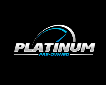 Logo design for Platinum Pre-Owned