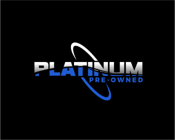 Platinum Pre-Owned logo design