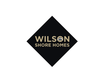 Wilson Shore Homes logo design