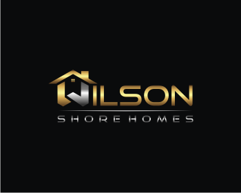 Logo design for Wilson Shore Homes