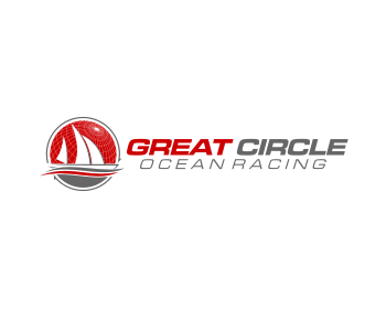 Logo design for Great Circle Ocean Racing