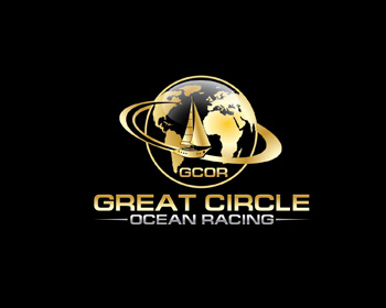 Great Circle Ocean Racing logo design