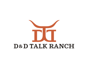 Logo design for D&D Talk Ranch