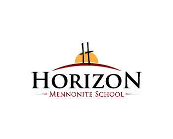 Horizon Mennonite School logo design
