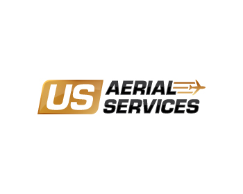 US Aerial Services logo design